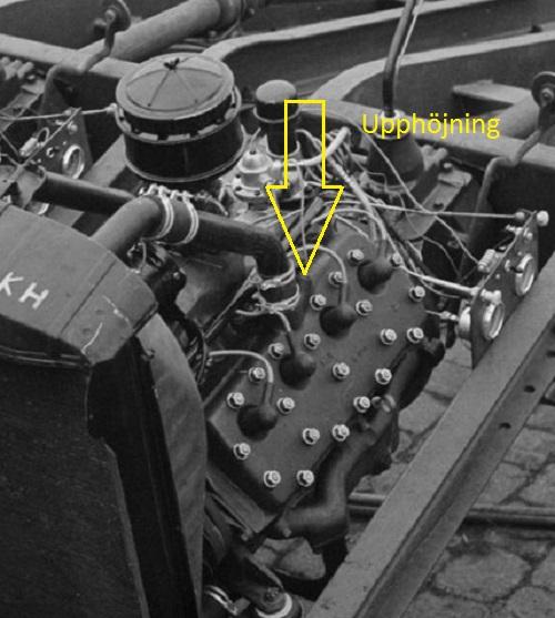 Ford V8 G17T 221 Engine