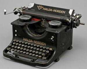 Halda Norden - Typewriter