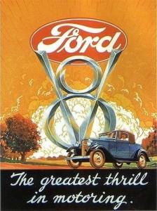 1932 Ford V8 advertising