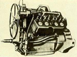 Cadillac V8 1914, 5,1 l - 70bhp