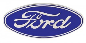 Ford Blue Oval Logo. Credit to speedwaymotors