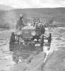 Ford Model T 1909 - Transcontinental Race.