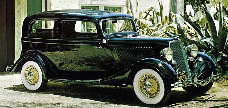 Ford Tudor De Luxe V8 1934