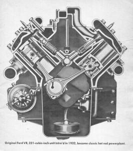 Ford V8 221 CID 1932