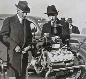 Ford V8-60. Credit to The Old Motor. Nov 11 1936.