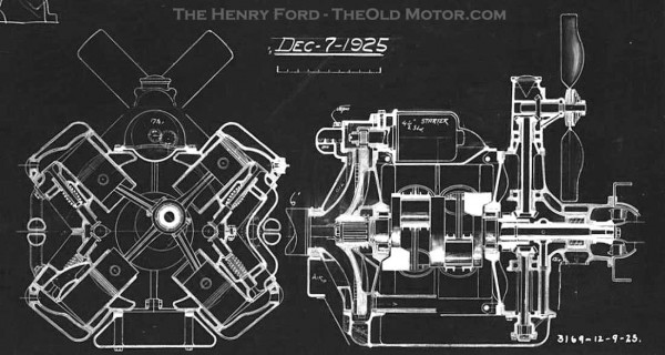 Ford X8 engine