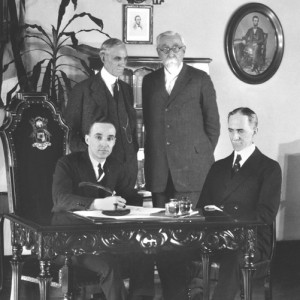 February 4, 1922. Ford buys Lincoln. Credit to myautoworld.com.