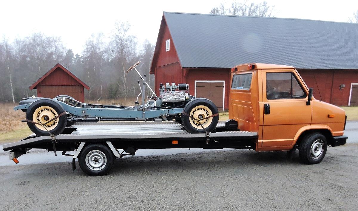 Fiat - Volvo biltransportlastbil
