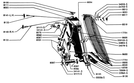 Ford 1934 Radiator