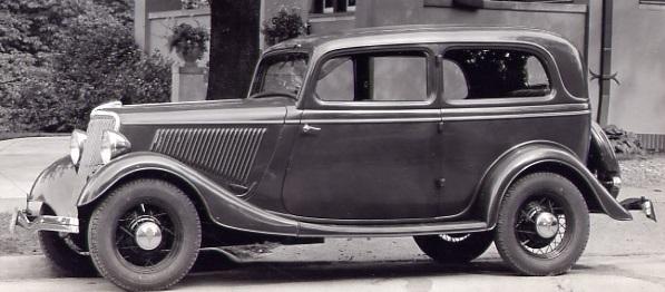 Ford Tudor 1934 Standard