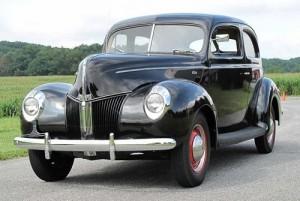 1940 Ford V8 Tudor Standard 01A. Credit to Rick Feibusch.