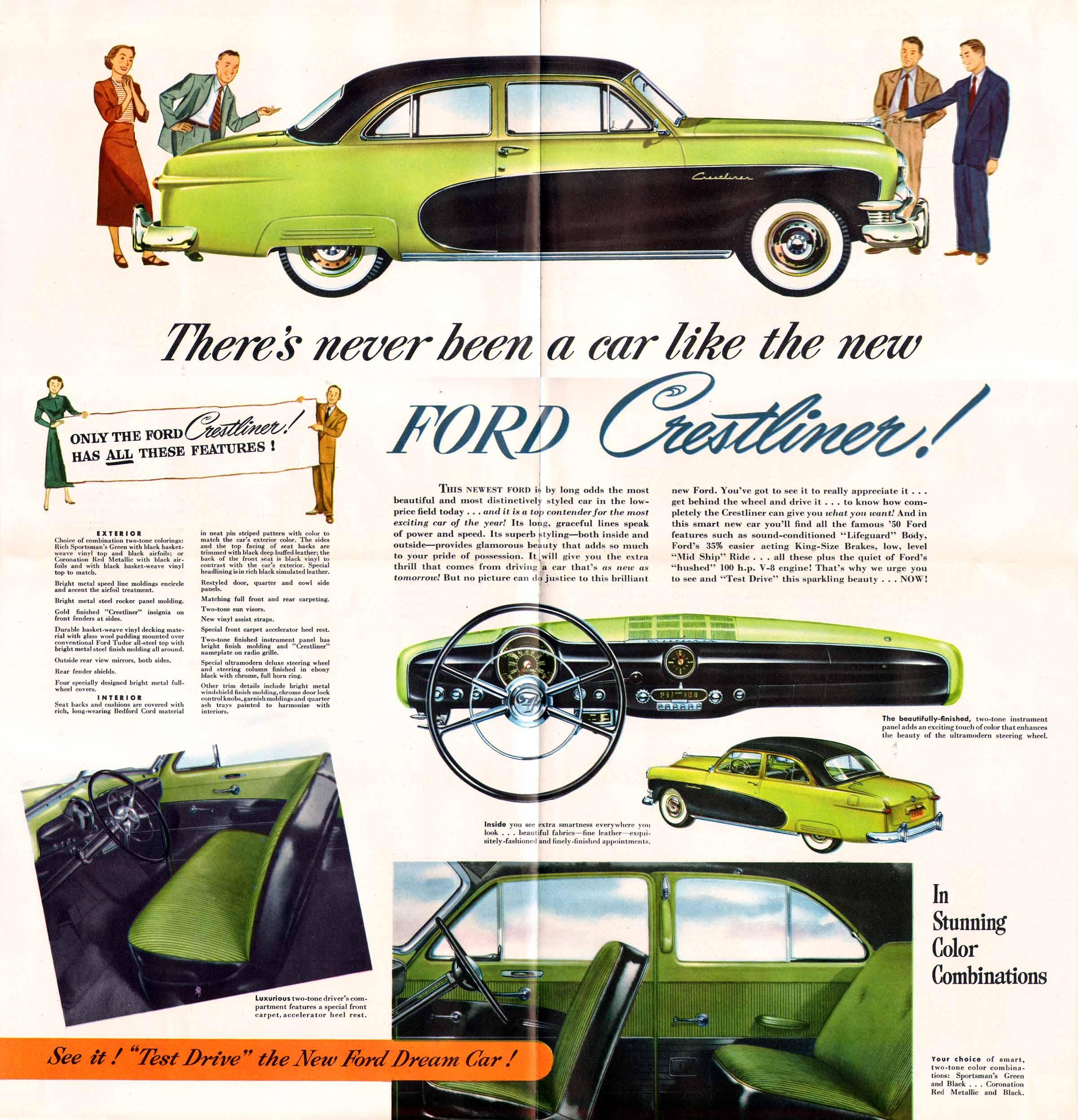 1950 Ford Crestliner Credit to oldcarbrochures.org
