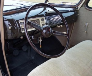 Ford 1940 Standard Dash