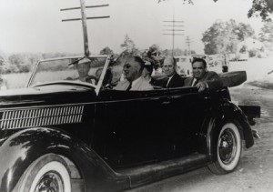 Franklin D Roosevelt Ford Phaeton 1936. Credit to mccm.com/history/
