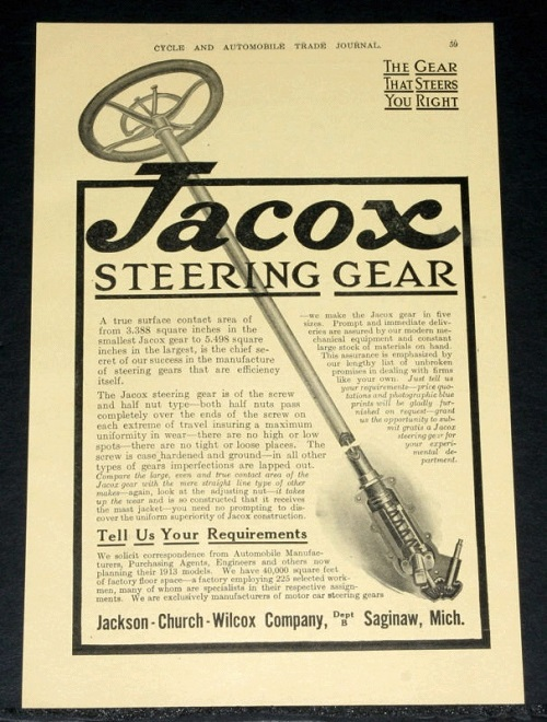 jacox-steering-gear