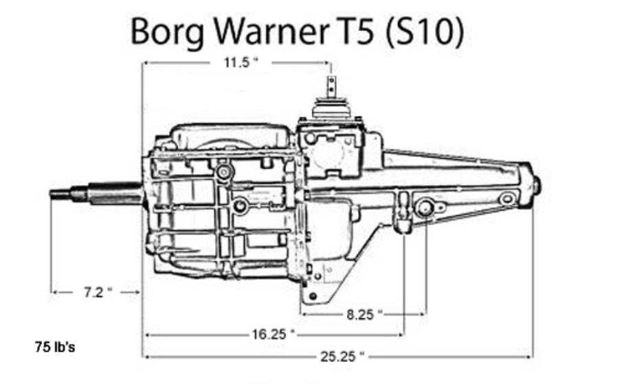 borg warner t5