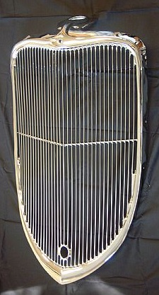 Ford 1933 Grille. Credit to jalopyjournal and big duece