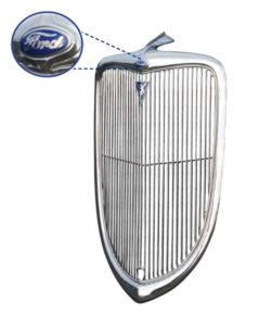 Ford Grille 1934 - Credit to Bob Drake